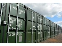 Self storage new containers for rent £130 pm