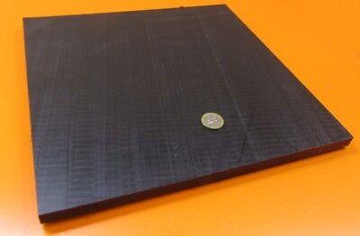 Delrin Pom Acetal Black Sheet 12 .500 Thick X 12 X 12