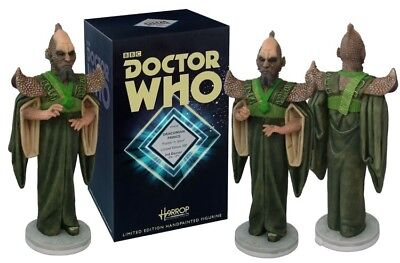 "DOCTOR WHO DRACONIAN PRINCE ROBERT HARROP LIMITED EDITION STATUE BUST 8"" FIGURE"