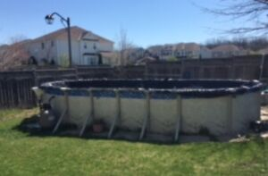 Large Above Ground Swimming Pool for Sale
