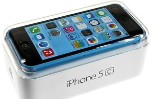 !! iPhone ** 5c --16GB >BELL/ VIRGIN< BLACK / BLUE *MINT IN BOX!
