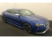 bLUE AUDI RS5 COUPE 4.2 FSI Petrol QUATTRO S-T FROM £155 PER WEEK!