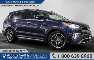 2017 Hyundai Santa Fe XL Limited CERTIFIED ACCIDENT FREE