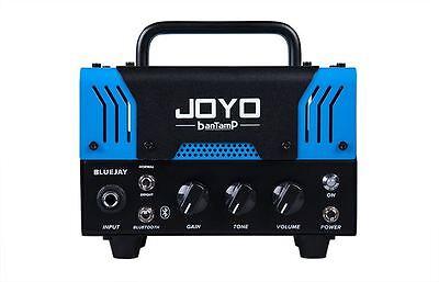 JOYO BlueJay Bantamp Guitar Amplifier head 20w Tube 2 Channel Bluetooth New !