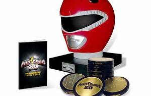 New: Power Rangers 20 Year Legacy DVD Helmet Collection  Set Somerville Mornington Peninsula Preview