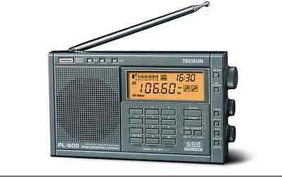 TECSUN PL-600 PLL Dual Conversion SSB World Band Radio Receiver FM/MW/SW/LW