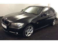 Black BMW 320 2.0TD d 2010 Exclusive Edition FROM £25 PER WEEK!