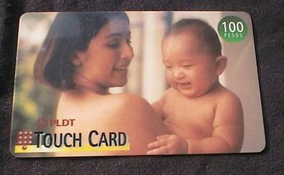 Philippines   Pldt 100P Touch Card Phone Card   Used   No Airtime 1999 2000