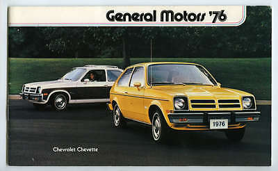 1976 General Motors Dealers Brochure All Models Gm Automobiles