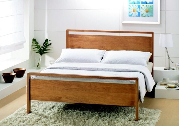 Joseph Ocasis 6ft Super King Size Wooden Bed Used With Without
