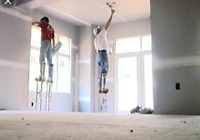 Drywall installation-completion