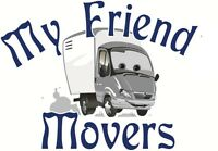 moving 2 friendly movers with cargo van - Last minute welcome!