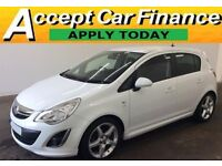 Vauxhall/Opel Corsa 1.4i 16v ( 100ps ) ( a/c ) 2011.5MY SRi- FROM £22 PER WEEK!