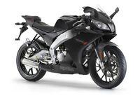 I want any 50cc 60mph motorbike ( gilera dna 50 aprilia rs50 derbi gpr 50 derbi senda 50 70cc 80cc