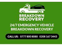 BREAKDOWN RECOVERY LONDON, KILBURN, M25 INSTANT DISPATCH 24HRs CHEAP PRICES