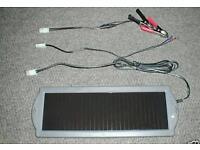 12v solar panel battery charger motorbike car camper