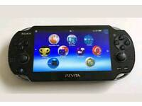 SONY PS VITA FOR SALE OLED SCEEN ALSO WITH NFS GAME
