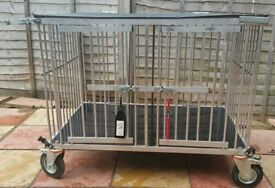 Large Dog Show Trolley with waterproof cover for sale