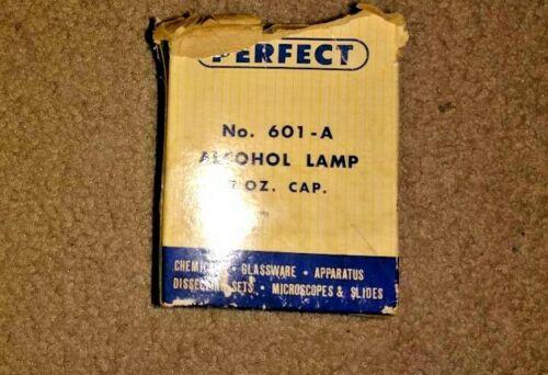 Vintage Scientific Perfect Alcohol Lamp 2 Ounce Laboratory Equipment