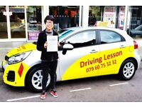 Driving Lesson. Amazing Driving Lesson
