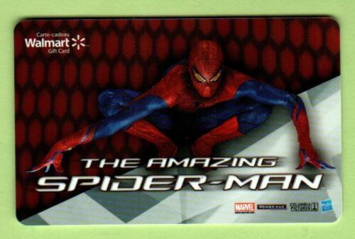 WALMART ( Canada ) The Amazing Spider-Man 2012 Gift Card ( $0 )