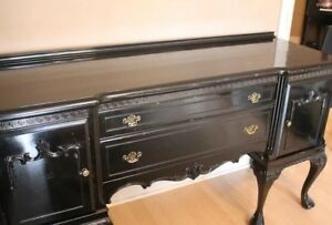 FREE DELIVERY!! Mahogany CHIPPENDALE SIDEBOARD~6 Ball & Claw Leg