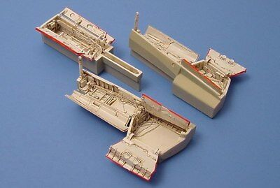 Aires 1/48 F-14A/D Wheel Bays for Hasegawa kit 4132
