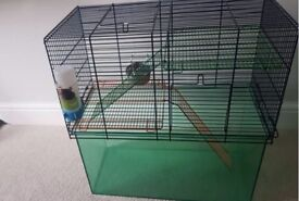 Gerbil and Hamster Cage