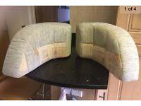 Caravan corner cushions