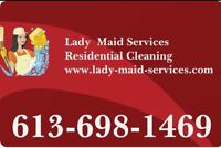 lady maid services - Cleaning services