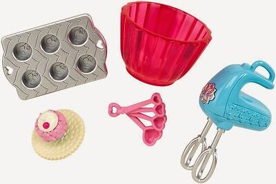 Barbie Accessory Pack - Cupcake Baking Set Doll House
