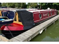 38 foot narrowboat with cruiser stern built by J.D Narrowboats in 2012