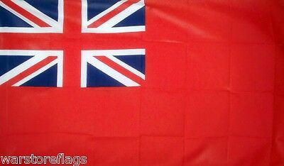 "RED ENSIGN NAVAL FLAG 18""X12""NAVY BRITISH BRITAIN FLAGS BOATS CARAVANS UK SHIPS"