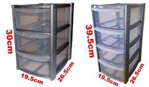silver-Tower-Unit-Storage-Organizer-3-4-Drawer-Office-School-Garage-Draws