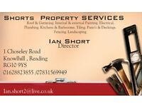 Shorts Property Services - Property Maintenance services