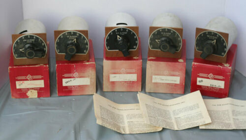 General Radio Company - Decade Resistance Units - 5 Units - LQQK! 510 B, D, E, F