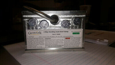 Guardian 2 Way Standing Seam Roof Clamp