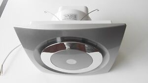 stainless steel color silent series bathroom exhaust fan 85 cfm new ebay