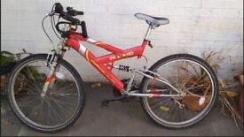 "Apollo Mountain Bike 19"" 26"" Great condition"