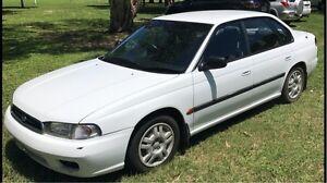 1998 Liberty white subaru sedan in good condition Ayr Burdekin Area Preview
