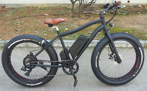 Fat Electric Bicycle  48V 500W FAT EBIKE  all-seasons & terrains