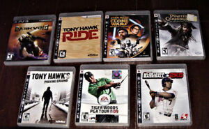 PS3 PLAYSTATION 3 GAMES ($5 EACH) - SEE PICTURES