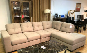 Hometown Furniture and Mattress --- New sectional is on sale