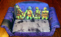 TMNT Teenage Mutant Ninja Turtles Children's Fold-out Couch Bed