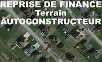 REPRISE: TERRAIN AUTOCONSTRUCTION PRÈS DE BELOEIL