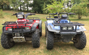 SOLD - Two ATV's for sale - $4500 (Abbotsford)