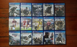 PS4 Games for sale! Great Condition