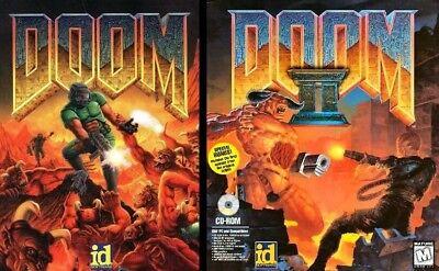 Doom 1 I And Ii 2 Hell On Earth  1Clk Windows 10 8 7 Vista Xp Install