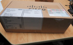 Cisco WAVE 4 Port GE Copper Inline Card-New-Factory Sealed