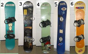 SNOWBOARDS, SNOW BOARDS